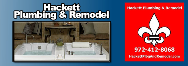 About | Hackett Plumbing & Remodel div of HCP Inc - Rowlett, TX